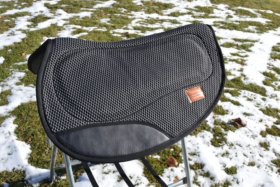 "Contoured Gaited Pad 29""x33"" with Extra Bar"